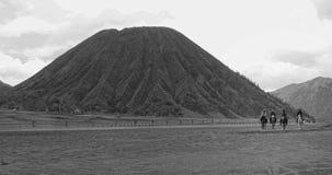 Soporte Bromo Indonesia Fotografía de archivo