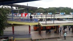 Soporte de autobús de BMTC de Bangalore fotografía de archivo