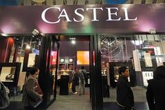 Soporte de Castel fotografía de archivo