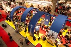 ¡Soporte de Clementoni en G! Viene Giocare 2010 Fotografía de archivo libre de regalías