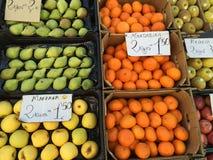 Soporte de fruta Fotos de archivo libres de regalías