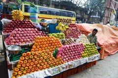 Soporte de fruta de Bangalore imagen de archivo