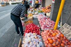 Soporte de frutas Foto de archivo