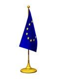 Soporte de la bandera Fotografía de archivo libre de regalías
