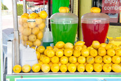 Soporte de limonada Fotografía de archivo