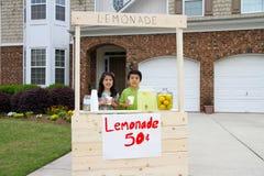 Soporte de limonada Imágenes de archivo libres de regalías