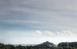 Soporte de San Miguel en Cornualles Imagen de archivo libre de regalías