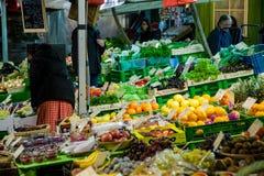 Soporte de Viktualienmarkt Imagen de archivo libre de regalías