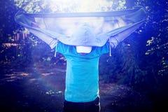 Soporte del adolescente al aire libre Imagen de archivo