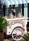 Soporte del helado Fotografía de archivo libre de regalías