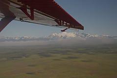 Soporte Denali del pequeño avión Imagen de archivo