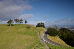 Soporte Eden Mount oakland En alguna parte en Nueva Zelandia Fotos de archivo libres de regalías