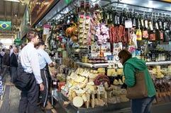 Soporte en el sao Paulo Central Market Fotos de archivo libres de regalías