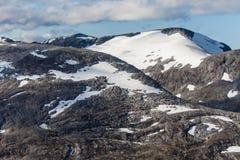 Soporte Holedalsfjellet Fotos de archivo libres de regalías