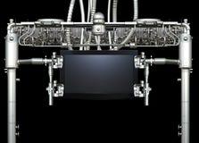 Soporte mecánico de la TV Fotografía de archivo