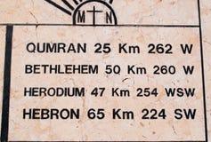 Soporte Nebo, Governorate de Madaba, Jordania, Oriente Medio Imagen de archivo libre de regalías