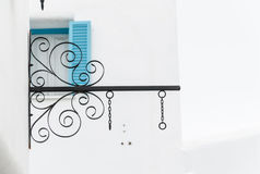 Soporte negro del hierro Foto de archivo libre de regalías