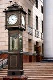 Soporte pintoresco del reloj Fotos de archivo