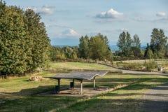Soporte Rainier From Grandview 5 Fotografía de archivo