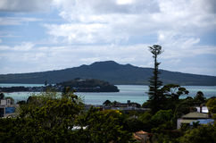 Soporte Rangitoto, Auckland, Nueva Zelanda Imagen de archivo libre de regalías