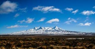 Soporte Ruapehu de Nueva Zelanda Foto de archivo