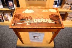 Soporte Vernon Education Center Exhibit del ` s de Washington imagen de archivo