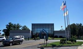 Soporte Vernon Illinois Welcome y centro de información imagen de archivo