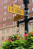Soporte Vernon Place Fotos de archivo libres de regalías
