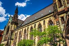 Soporte Vernon Place United Methodist Church en Baltimore, Marylan Imagenes de archivo