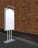 Soporte vertical de la cartelera fotografía de archivo libre de regalías