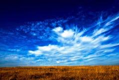 Soporte Vitosha con las nubes 2 fotos de archivo
