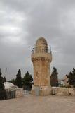 Soporte Zion Minaret - Jerusalén - Israel fotos de archivo libres de regalías