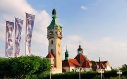 sopot Польши стоковые изображения