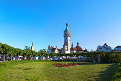 Sopot. Old lighthouse in Sopot, Poland royalty free stock image