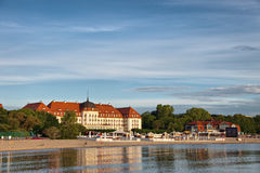 Sopot. Morning in the holiday resort of Sopot, Poland Royalty Free Stock Image