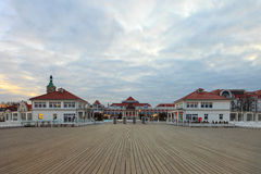Sopot. View from the pier on the beautiful architecture of Sopot, Poland Stock Image