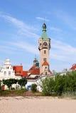 Sopot. An old lighthouse in Sopot, Poland stock photos