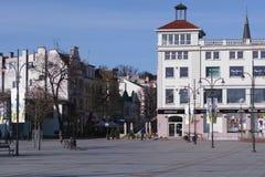 Sopot architecture. SOPOT, POLAND - APRIL 22, 2015: Nice example architecture in Sopot, Poland royalty free stock image