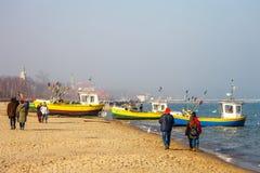 Sopot beach Stock Images