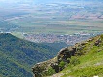 Sopot, Bulgaria. Sopot town from the mountain top royalty free stock photos