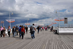 Sopot famous pier Stock Photo