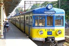 Sopot Fast Urban Railway station Stock Image