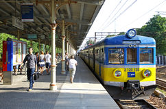 Sopot Fast Urban Railway station Royalty Free Stock Image