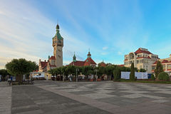 Sopot in the morning Royalty Free Stock Images
