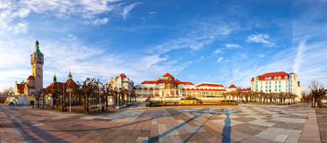 Sopot at morning Stock Photo