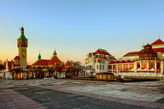 Sopot in the morning Stock Photography