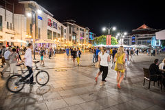 Sopot by night Stock Image