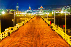 Sopot at night Royalty Free Stock Photography