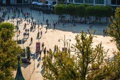 Sopot,Poland-September 7,2016: View of the Sopot City in Poland. Sopot,Poland-September 7,2016:View of the Sopot City in Poland stock photography