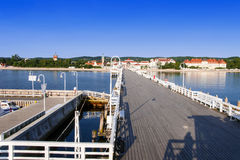 Sopot resort in Poland Stock Photography